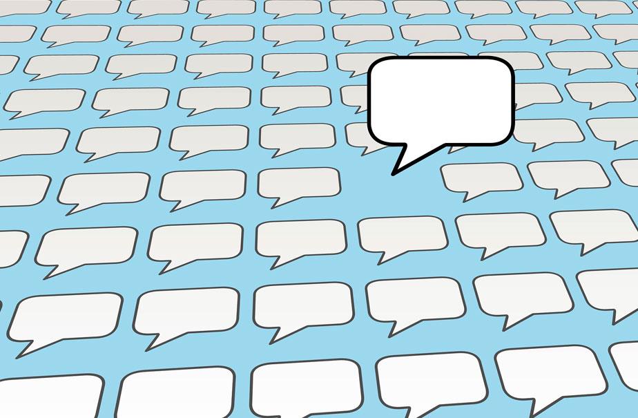 "O Poder do ""Comentar"" nas redes sociais."