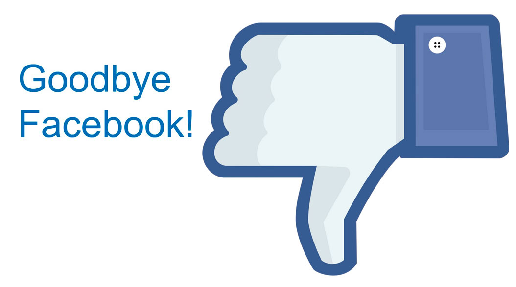 Goodbye Facebook?
